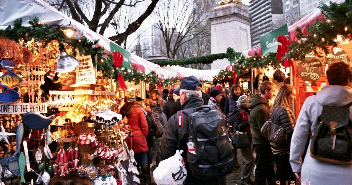 Columbus Circle Christmas Market 2020 Hours 2019's Columbus Circle Holiday Market | I Love The Upper West Side