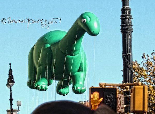Dino Float Macy's Parade