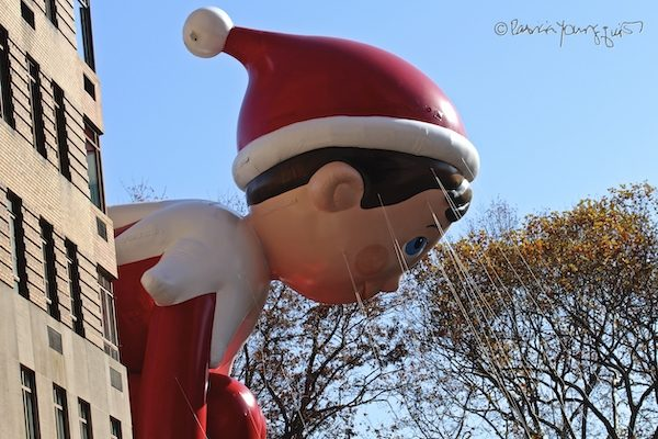 Elf on the Shelf Parade Float