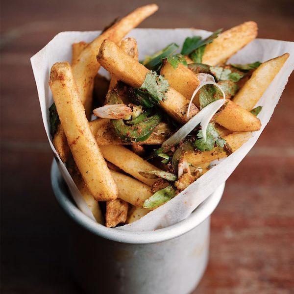 Es Bar Spicy Fries