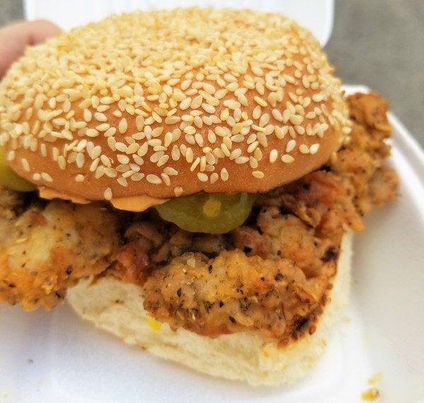 Fried Chicken Sandwich Harriet Kitchen