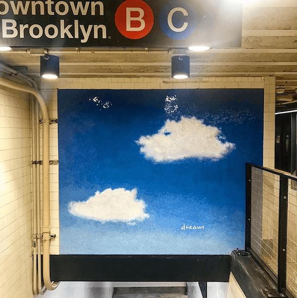 Yoko Ono Dream Subway