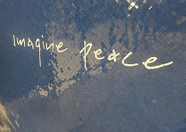 Yoko Ono Imagine Peace Subway