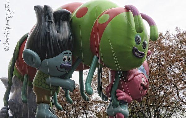 troll floats thanksgiving parade