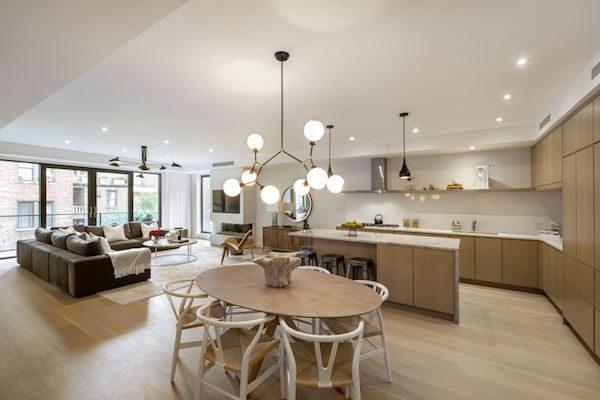 134 West 83rd Street Living Room