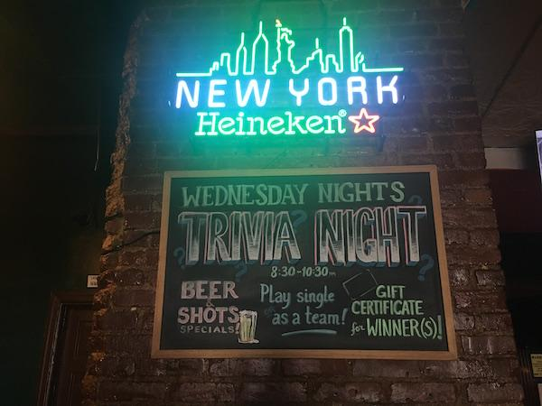 Frank Macs Trivia Nights Upper West Side
