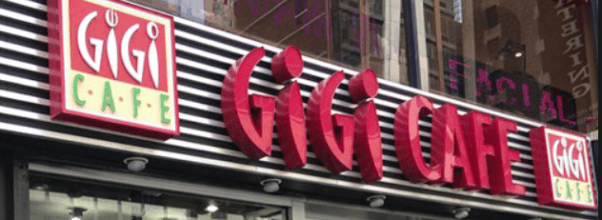 Gigi Cafe is closing
