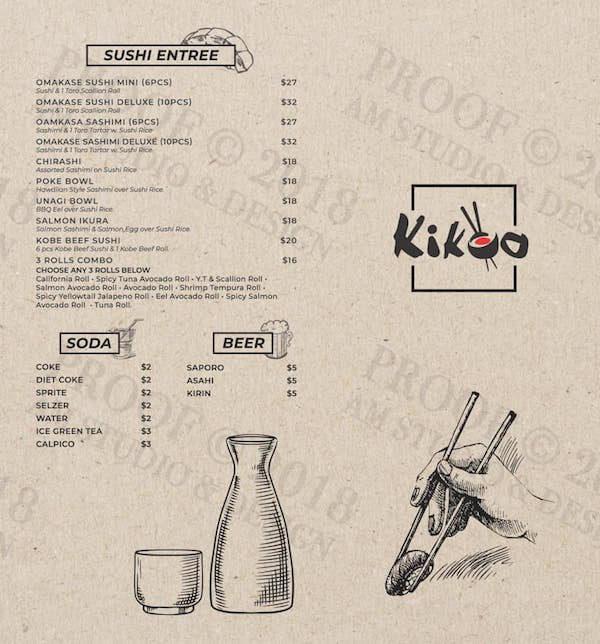 Kikoo West Menu Page 2