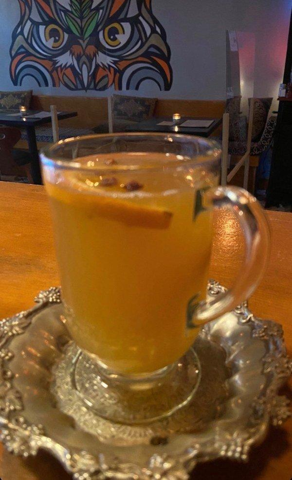 Owl's Tail Hot Toddy