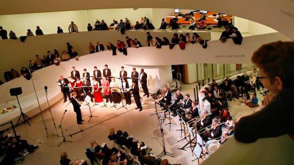 Rotunda Holiday Concert Guggenheim