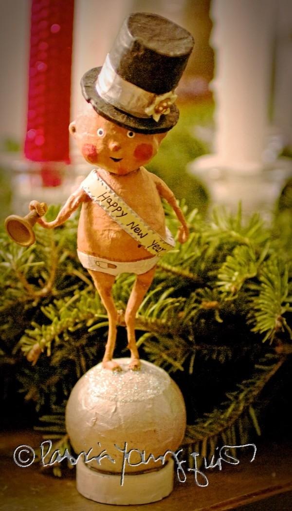 new year's figurine