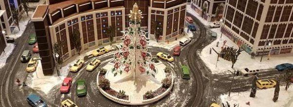 Gingerbread City in Columbus Circle
