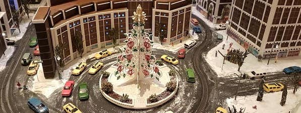 Gingerbread City in Columbus Circle