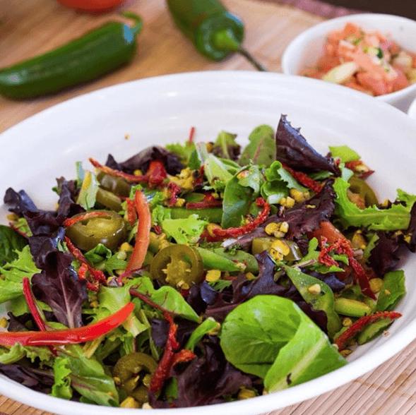 Holy Schnitzel Salad