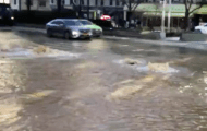 Flooded UWS Street
