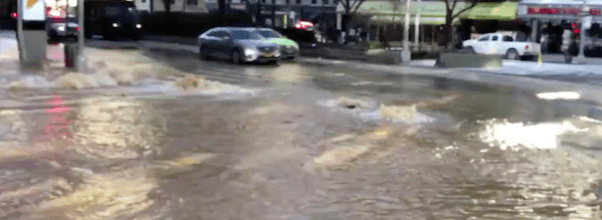 Flooded UWS Street