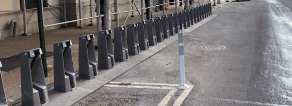 Citi Bike Station on 59th and Tenth Avenue