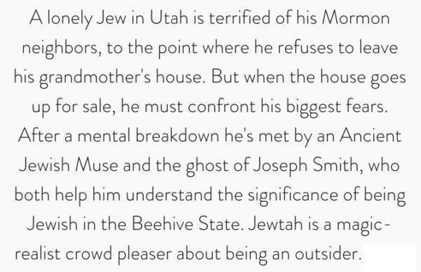 Jewtah Summary