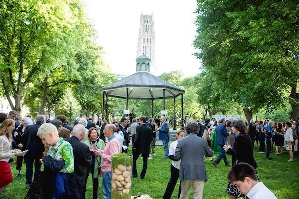 Benefit Gala in Riverside Park
