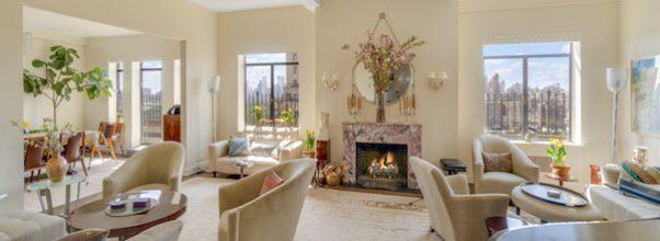 Live in Barbra Streisand's Former CPW Penthouse