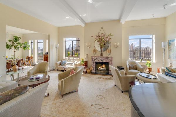 Barbara Streisands Former NYC Penthouse