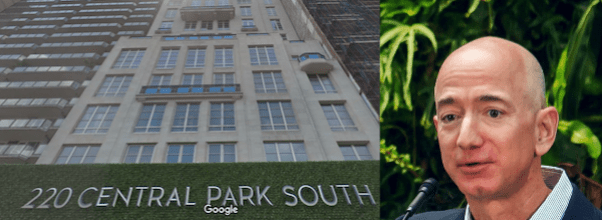 Jeff Bezos Eyeing Apartment at 220 Central Park South