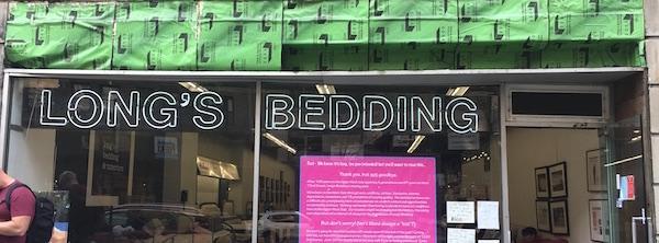 Longs Bedding Will Close