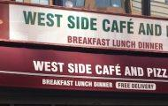 West Side Cafe Has Closed