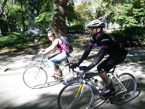 Central Park Bike Ride