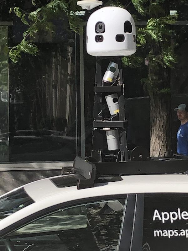 Apple Maps Emulating Google's Street View; Car Taking Photos Spotted on