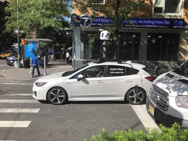 Apple Maps Car Upper West Side NYC