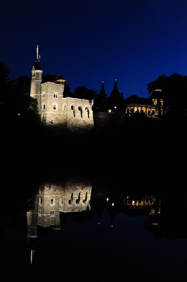 Belvedere Castle Lighting June 2019