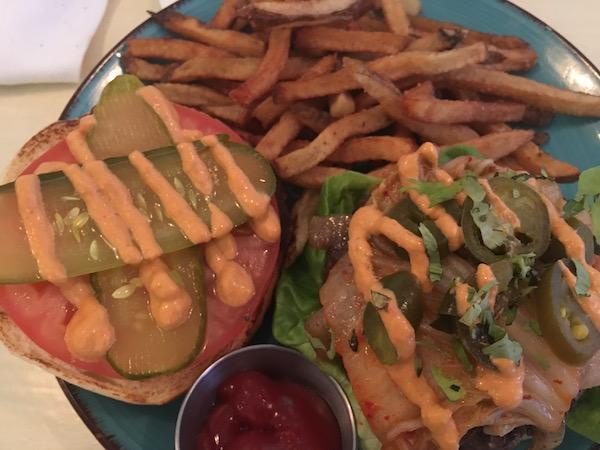 Harvest Kitchen Burger