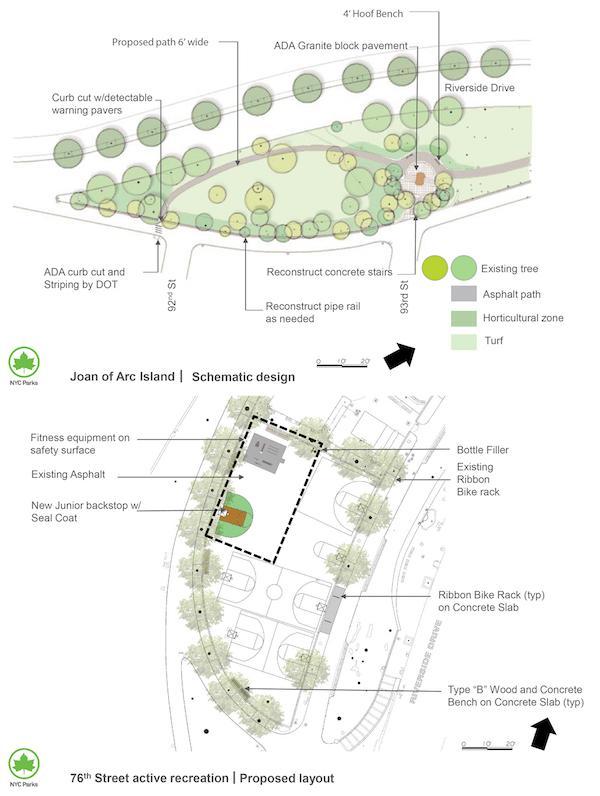 Joan of Arc Park Reconstruction