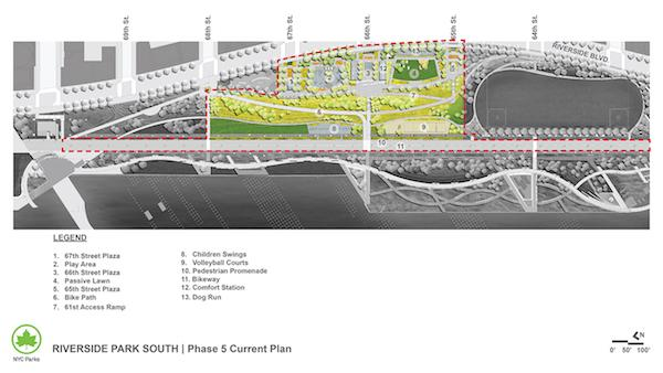Riverside Park South Construction