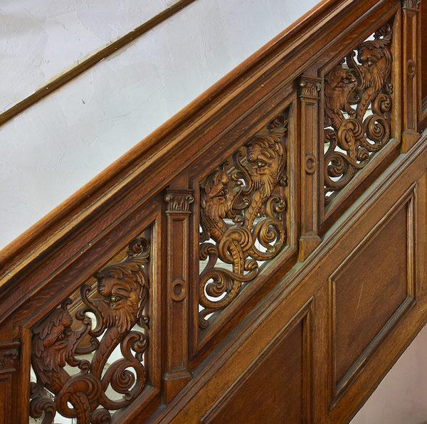 86 Riverside Drive Staircase