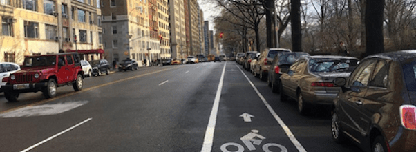 Central Park West Bike Lane Approved