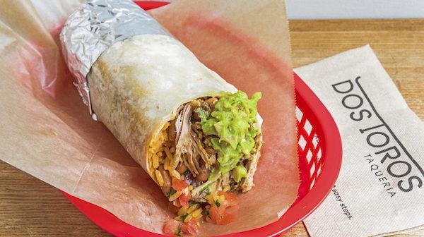 Dos Toros Carnitas Burrito