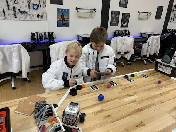 Kids Learning Robotics NYC
