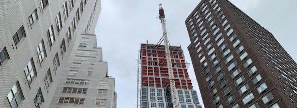 Construction Continues at 200 Amsterdam Ave
