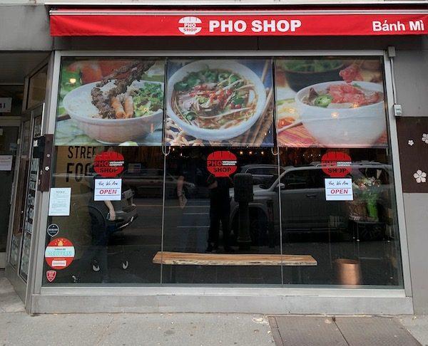 pho shop storefront