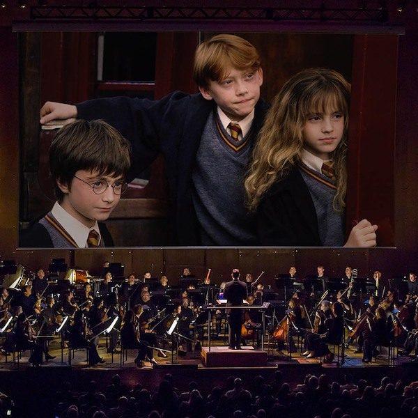 Harry Potter Sorcerer's Stone NY Philharmonic