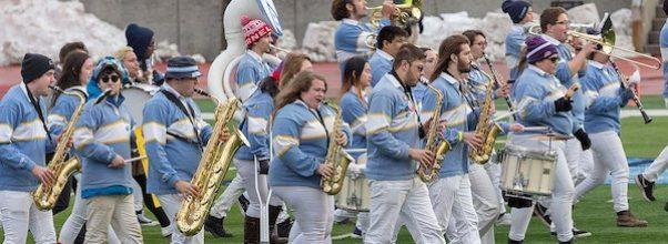 Columbia University Marching Band Returns