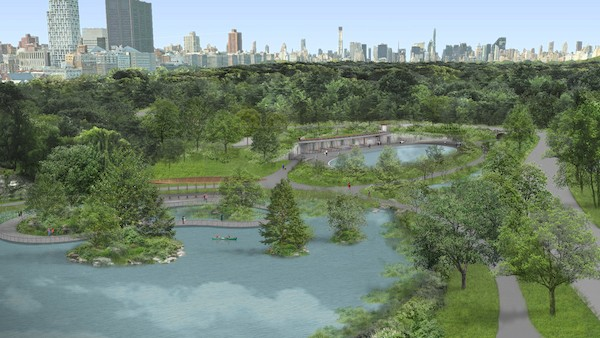 North End of Central Park Renovations