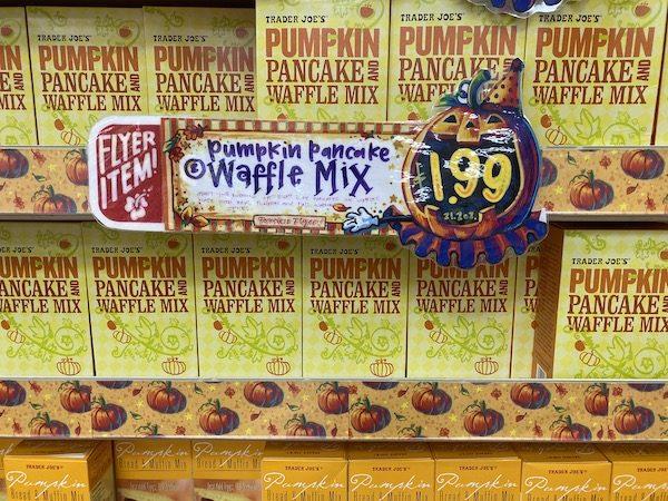 Pumpkin Pancake Mix TJ's