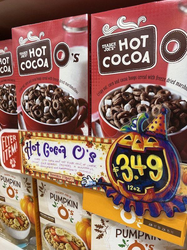 Trader Joe's Hot Cocoa O's