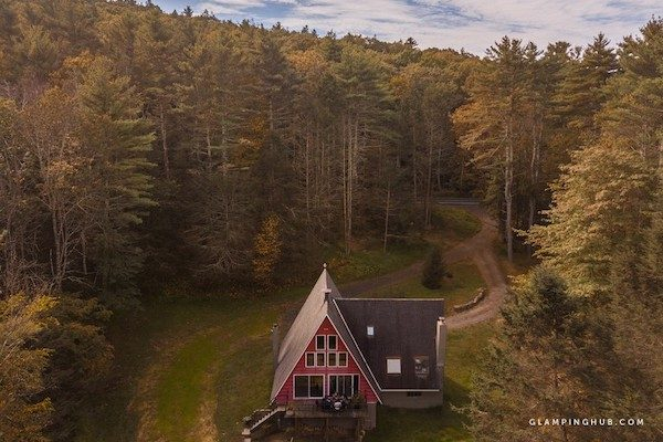 A-Frame Cabin Catskills New York