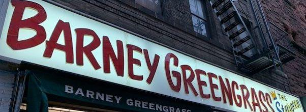 Barney Greengrass To Reopen