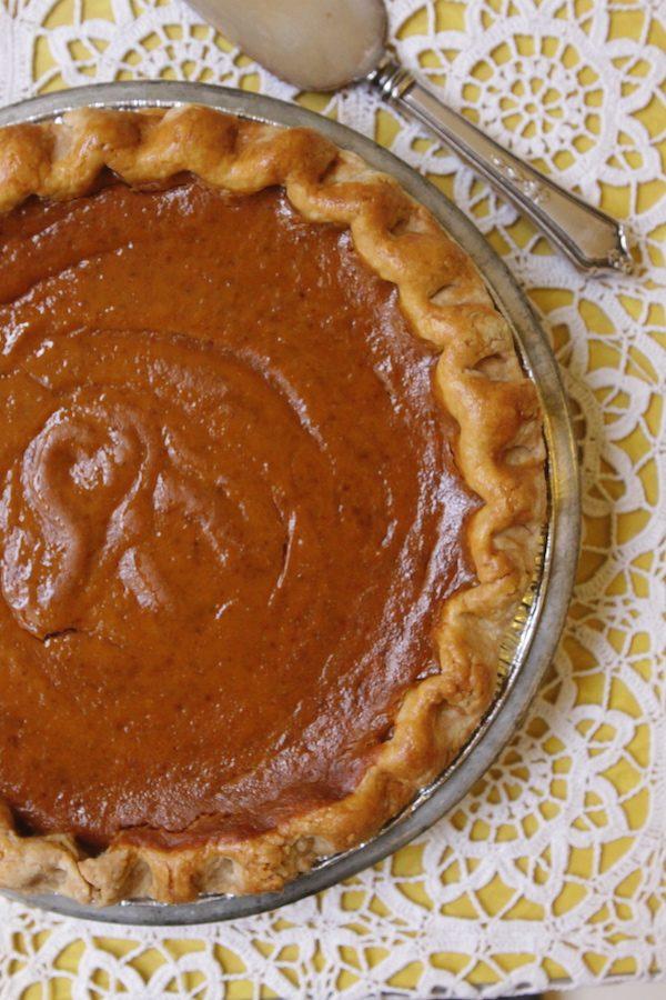 Pumpkin Pie Billy's Bakery