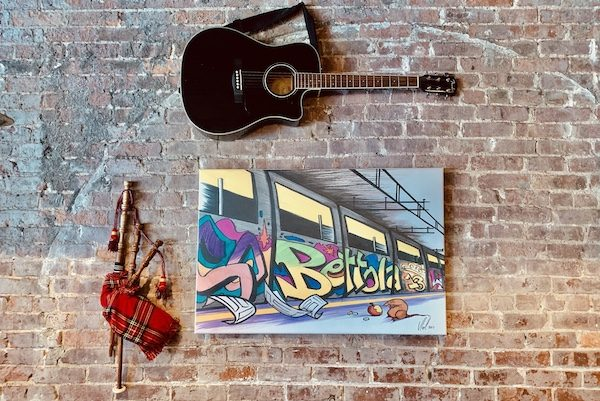 bettola art wall